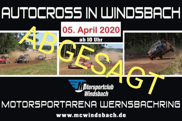 Autocross Abgesagt 2020